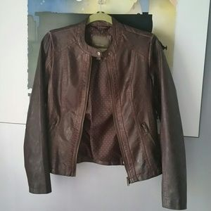 🐂NWOT Faux Leather Jacket🐂
